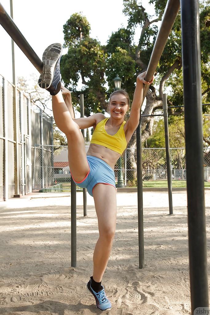 Fotos de chicas que se les marca la concha