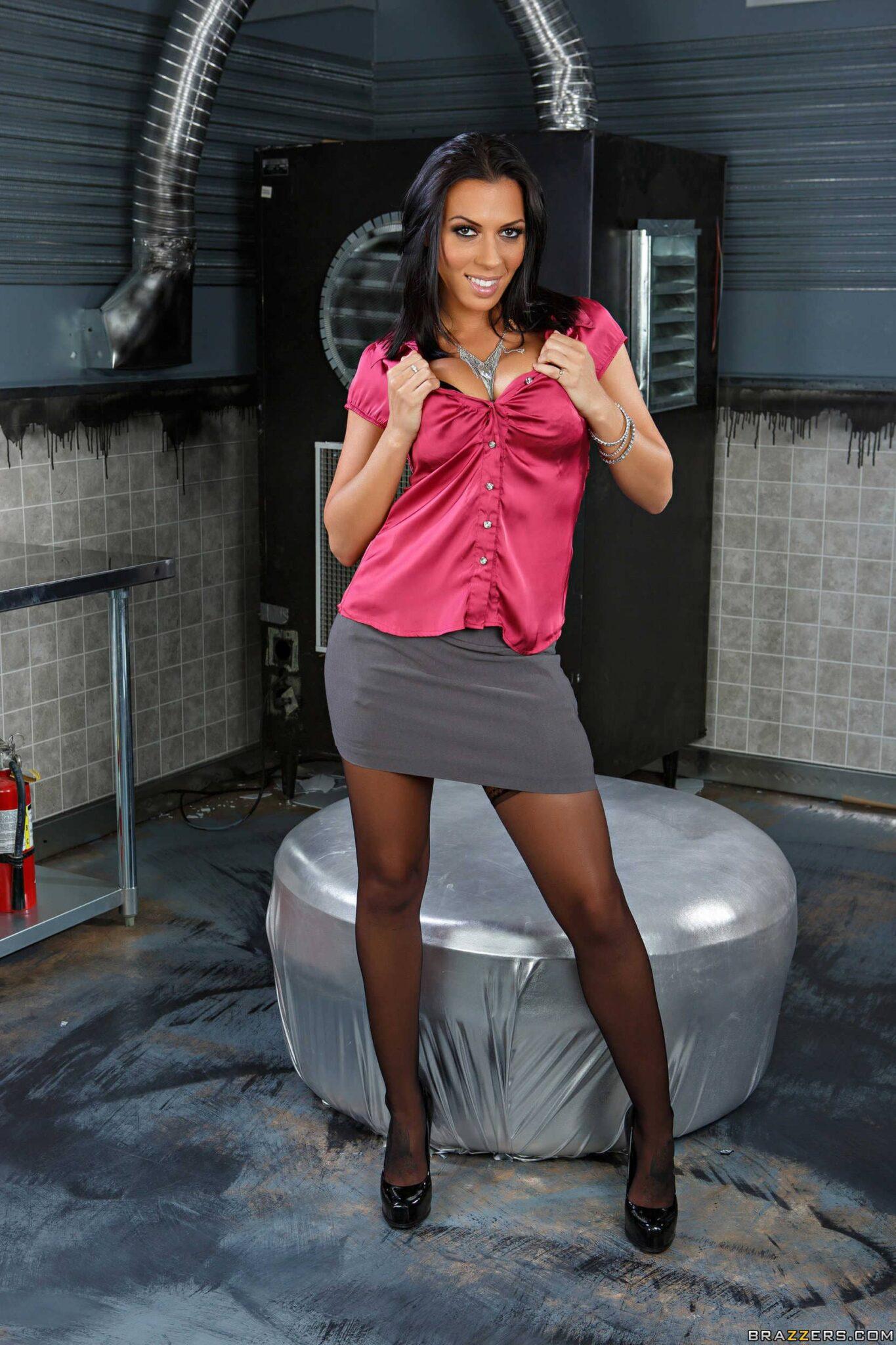 Rachel Starr culazo impresionante en lencería negra